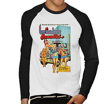 Breaker Beauties Trucker Girls Men's Baseball Long Sleeved T-Shirt