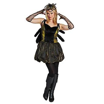 Vestuario de la mujer araña de vestir traje de halloween