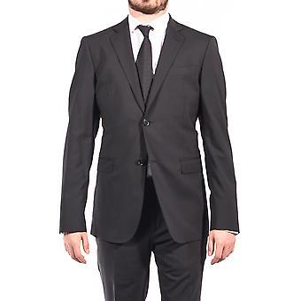 Pierre Balmain uld to knap jakkesæt sort