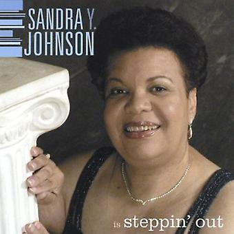 Sandra Y. Johnson - Steppin' Out [CD] USA import