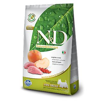 Farmina N&D Grain Free Adult Mini Wild Boar and Apple (Dogs , Dog Food , Dry Food)