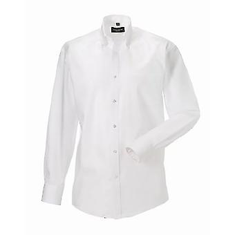 Russell Collection Mens Long Sleeve Ultimate Non-Iron Shirt