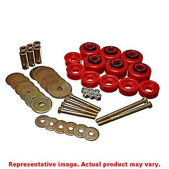Energy Suspension Körper Mount Set 4.4113R rot passt: FORD 1997-1998 f-150 Stand