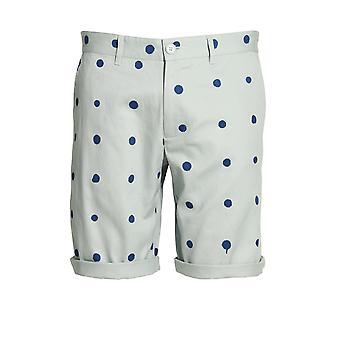 Heros Heldin Polka Dot Cotton Twill Shorts | Blau