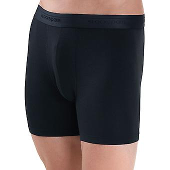 BlackSpade Mood Lite Black Modal Cotton Mens Boxers 2 Pack M9324