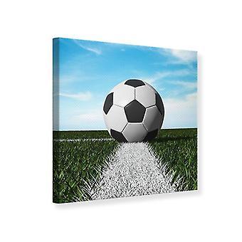 Lærred Print fodbold