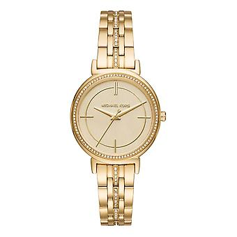 Michael Kors Watches Mk3681 Cinthia Gold Tone Stainless Steel Ladies Watch