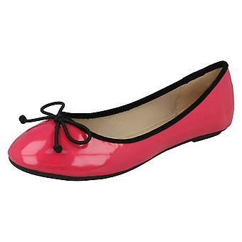 Ladies Spot On Ballerina Flats