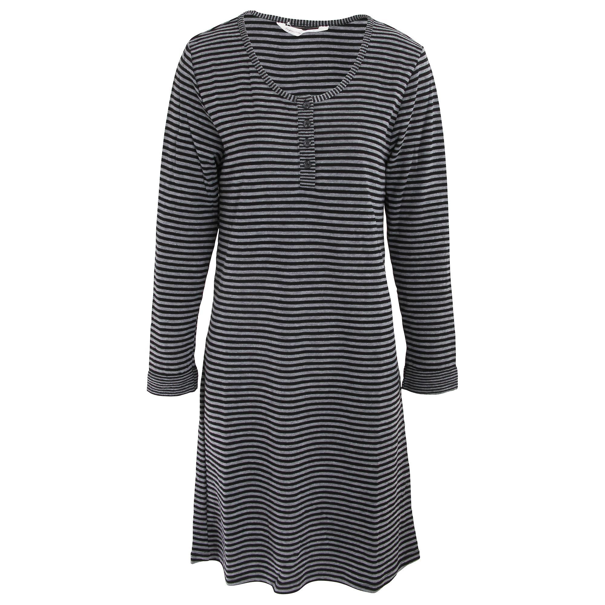 Inspirations Ladies/Womens Wide Stripe Nightdress