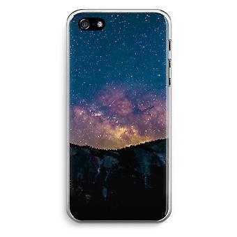 iPhone 5/5 s ・ SE 透明ケース (ソフト) - 宇宙の旅