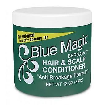 Blue Magic Bergamot Hair & Scalp Conditioner 340g Green
