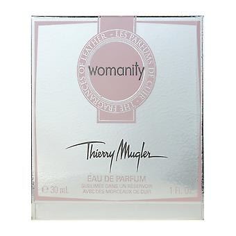 Thierry Mugler Womanity The Fragrance of Leather Eau De Parfum 1.0Oz/30ml New