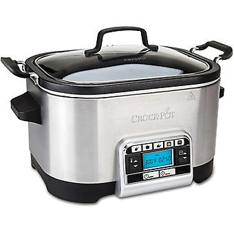 CROCK POT Slow Cooker 5, 6 l Multif. Timer