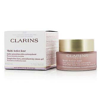 Multi-Active Day Targets Fine Lines Antioxidant Day Cream-Gel - For Normal To Combination Skin - 50ml/1.7oz