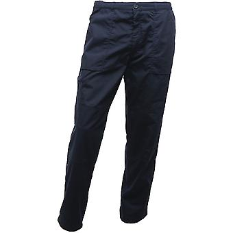 Regatta Mens Polycotton Warm Lined Robust Workwear Action Trousers