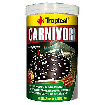 Tropical 60735 Carnivoros De Fondo 500 ml (Fish , Food , Warm Water)