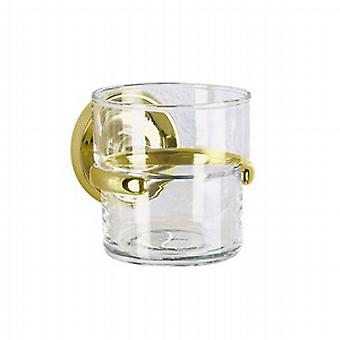Villa Brass Holder With Glass Tumbler V243
