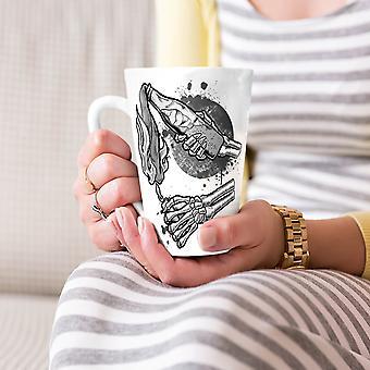 Koktajl Mołotowa Gangster Nowa Biała herbata kawa Latte ceramiczny kubek 17 oz   Wellcoda