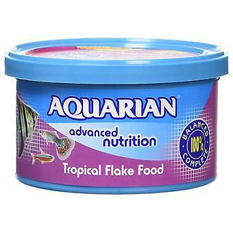 Aquarian Tropical Flake Fish Food - 25 g