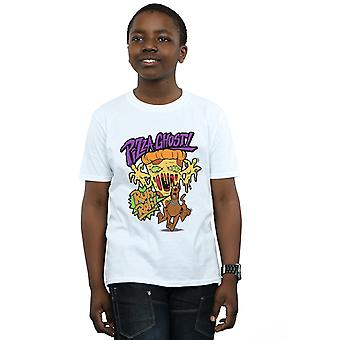 Scooby Doo Boys Pizza Ghost T-Shirt