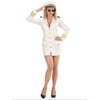 Navy Captain Woman (Dress Hat)