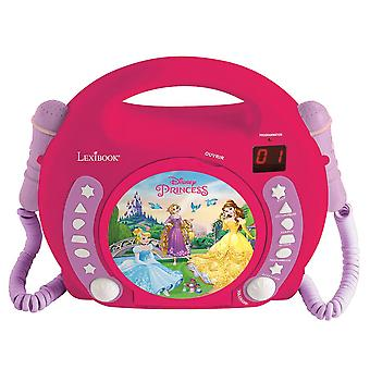 LEXIBOOK CD Player with 2 Mics Disney Princess (Model No. RCDK100DP)