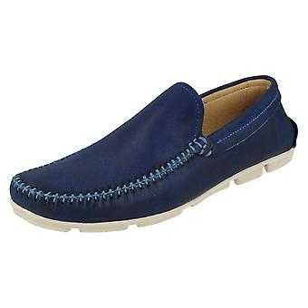 Mens Anatomic & Co Moccasin Shoes Aruja 363602 Anil Size UK 10.5/45