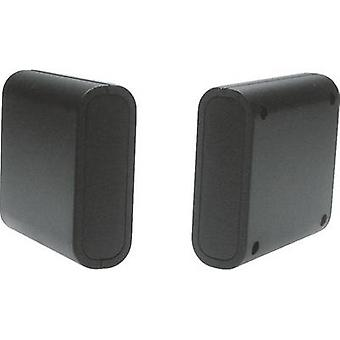 Strapubox 2412SW Universal kabinett 63 x 60 x 21 akrylonitril butadien styren svart 1 eller flere PCer