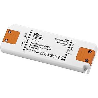 Goobay conjunto CC 500-20 LED LED driver constante actual 20 W 0.5 A 0 - 40 Vdc