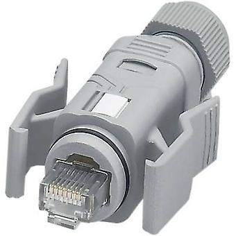 Phoenix Contact 1656990 VS-08-RJ45-5-Q/IP67 RJ45-Plug Connector IP67 - CAT5e 8 RJ45 Plug, straight Grey