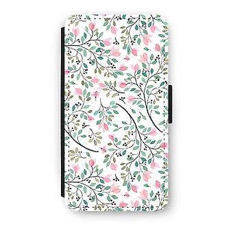 iPhonegeval Xs Flip - Dainty bloemen