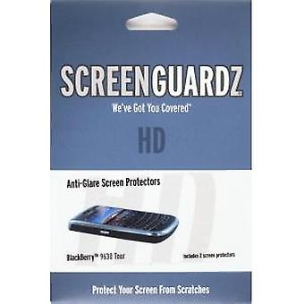 BodyGuardz - ScreenGuardz + HD scherm Protecter voor Blackberry 9630 Tour, 9650 Bol