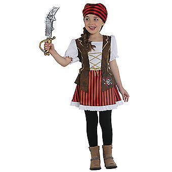 Pirat Lady kjole barn kostyme pirat barna drakt Corsair