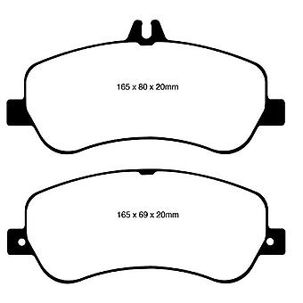 EBC Brakes DP42011R Yellowstuff Street and Track Brake Pad