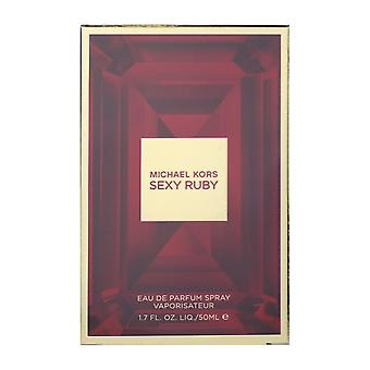 Michael Kors Sexy Ruby Eau De Parfum Spray 50 ml/1. 7 Oz nowe w polu
