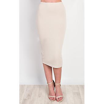 IKRUSH Womens Halden Basic Midi Skirt