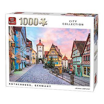 König Rothenburg, Deutschland Jigsaw Puzzle (1000 Stück)