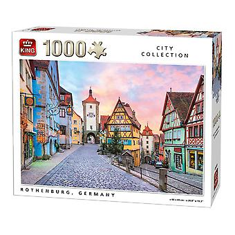 Rothenburg الملك, ألمانيا بانوراما لغز (1000 قطعة)