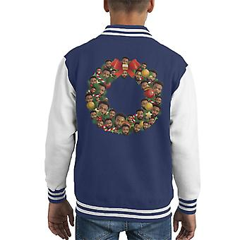 Christmas krans Multi Donald Glover Kid's Varsity jakke
