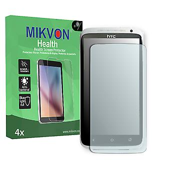 HTC One XL EU Screen Protector - Mikvon Health (Retail Package with accessories) (reduced foil)