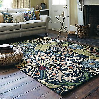 Seaweed Rugs 28008 Ink By William Morris
