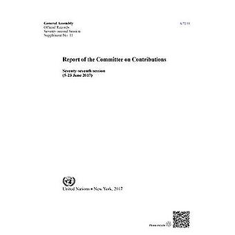 Report of the Committee on Contributions - Seventy-Seventh Session (5-