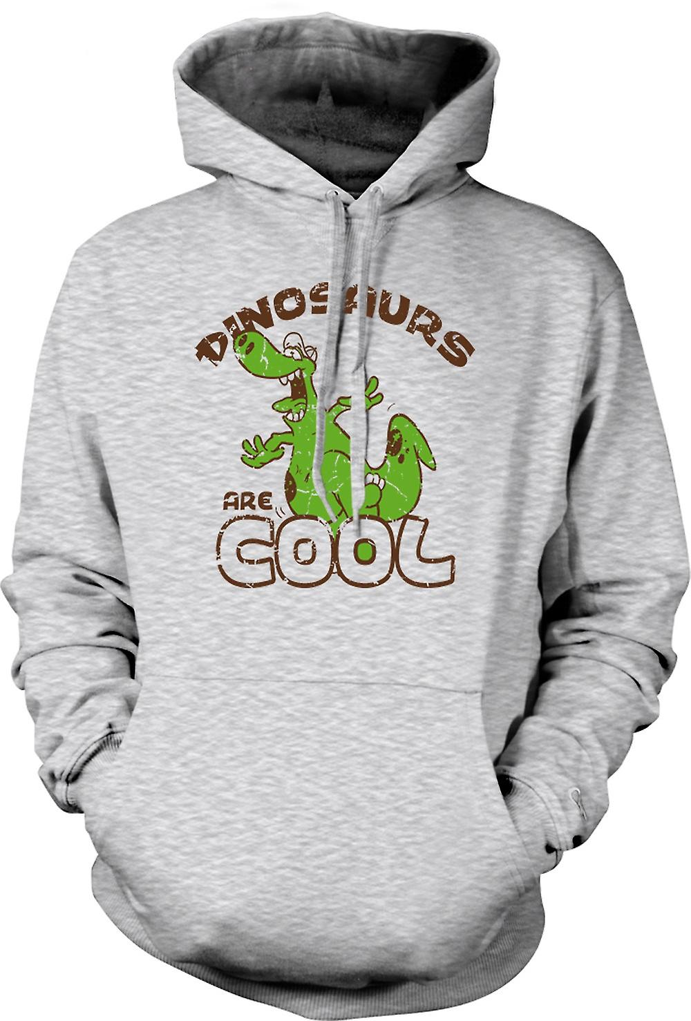Mens Hoodie - Dinosaurs Are Cool - Funny