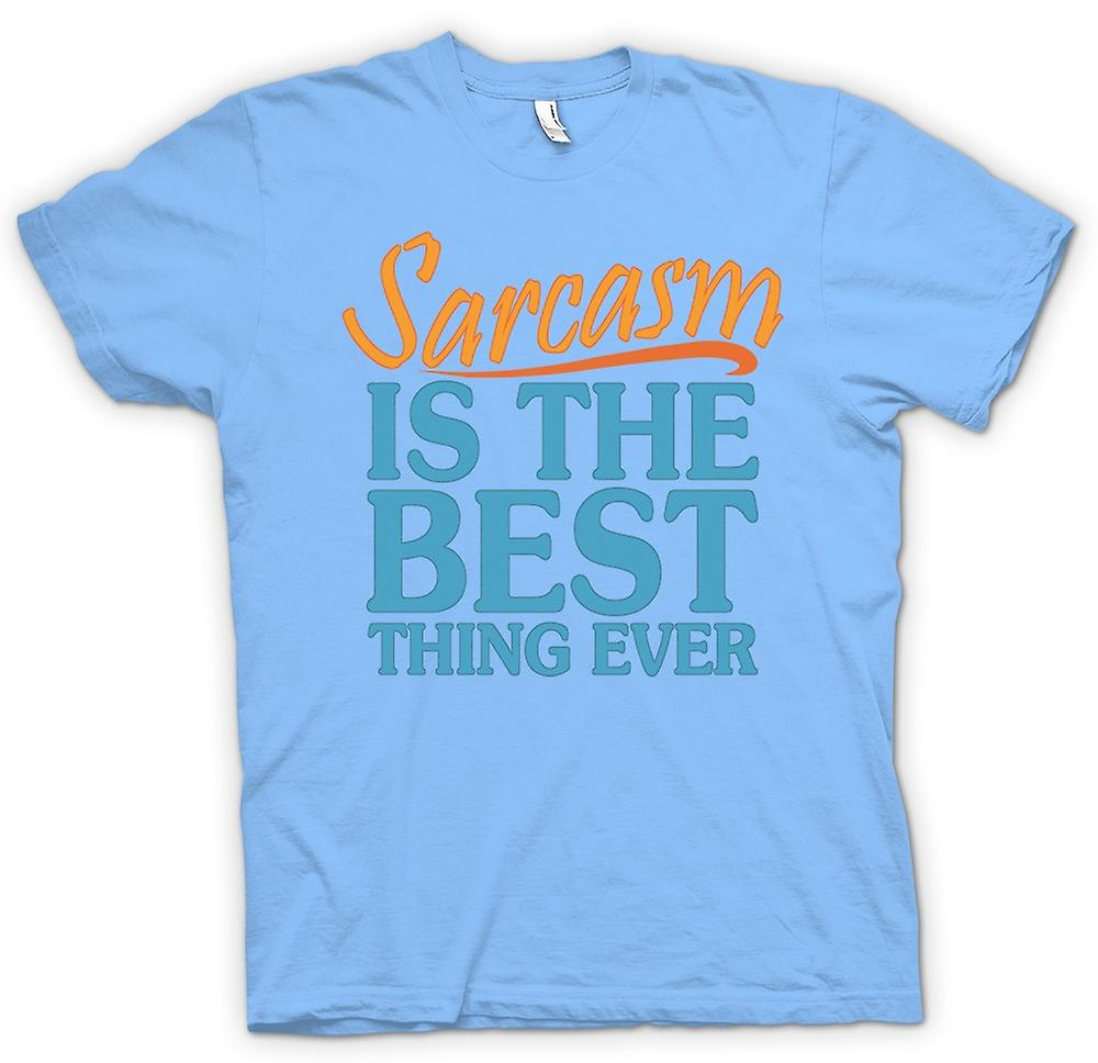 Mens T-shirt - Sarcasm Is The Best Thing Ever - Funny