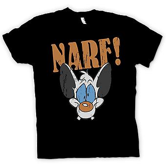 Mens T-shirt - NARF - Pinky And The Brain Inspired