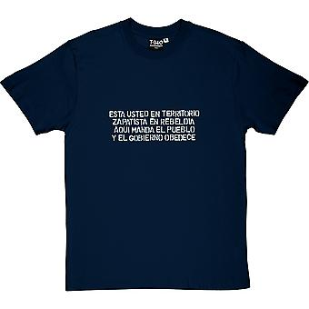 Die Leute geben die Aufträge Männer T-Shirt