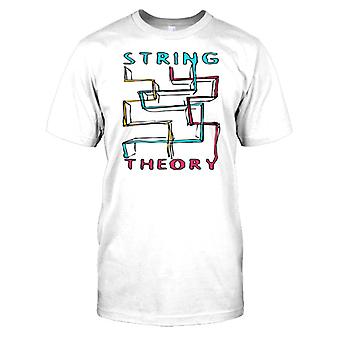 String Theory - Cool Science Kids T Shirt