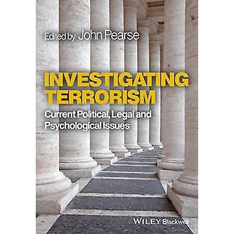 Enquête sur le terrorisme - courant politique - juridiques et psychologiques