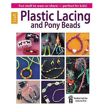 Plastic Lacing and Pony Beads (Leisure Arts Craft)