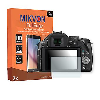 Panasonic Lumix DMC-G5K screen protector - Mikvon FullEdge (screen protector with full protection and custom fit for the curved display)